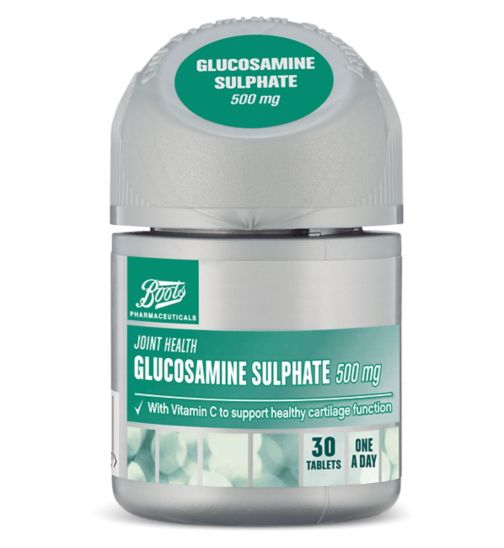 Boots Pharmaceuticals Glucosamine Sulphate 500 mg 30 tablets
