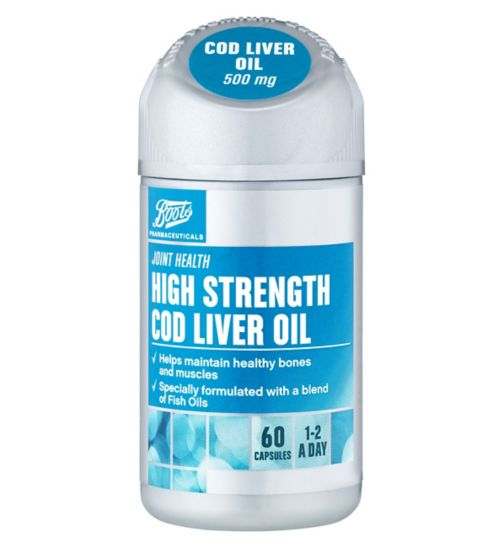 Boots Cod Liver Oil 500 mg - 60 Capsules