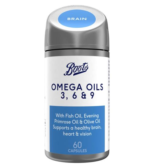 Boots Omega Oils 3, 6 and 9 60 Capsules