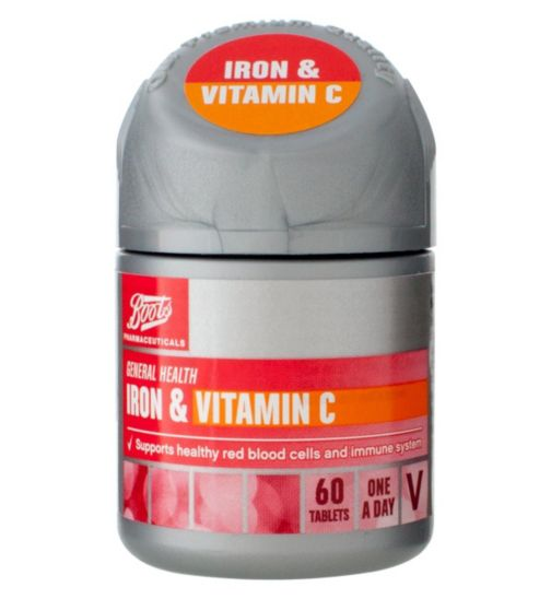 Boots  IRON & VITAMIN C 60 Tablets