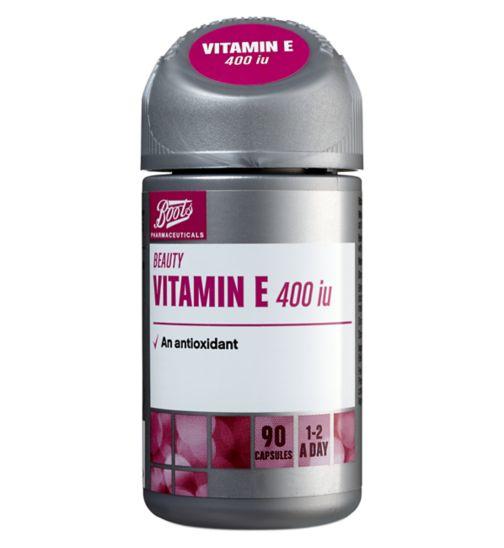 Boots Vitamin E 400iu 90 Capsules