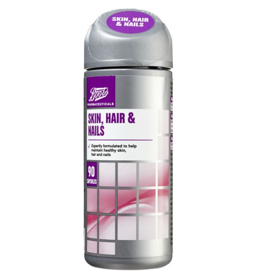 Boots Skin, Hair & Nails 90 Capsules