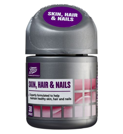 Boots Skin, Hair & Nails 30 capsules