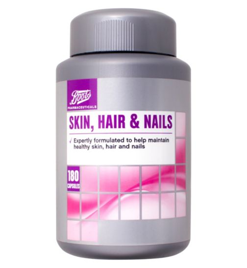 Boots Skin, hair & Nails 6 month supply 180 Tabs