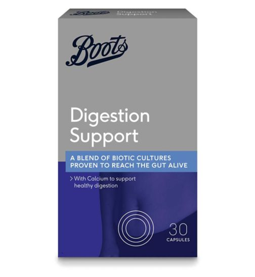 Boots DIGESTION SUPPORT 30 capsules