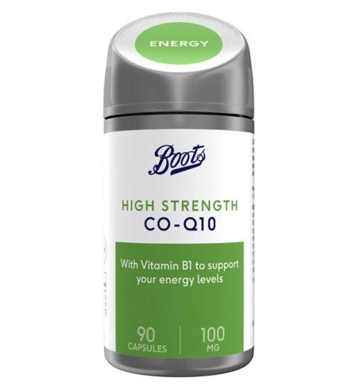 Boots VITALITY CO-Q10 100 mg 90 Capsules