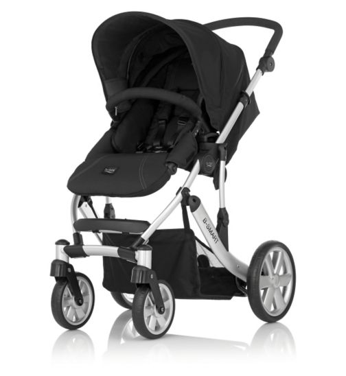 Britax B-Smart 4 Pushchair - Neon Black