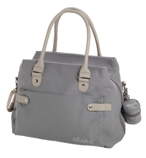 Beaba Baby Stockholm Nursery Change Bag - Natural Grey