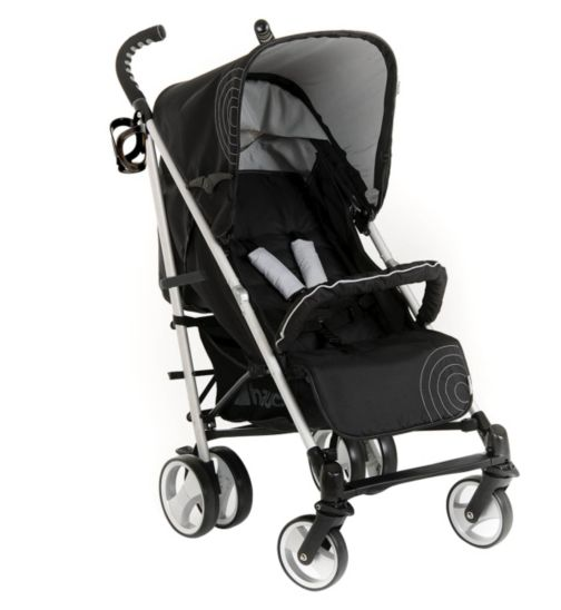 Hauck Spirit Candy Pushchair - Caviar & Silver