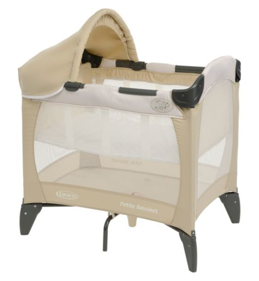 Graco Petite Baby Travel Cot with Bassinet - Benny & Bell