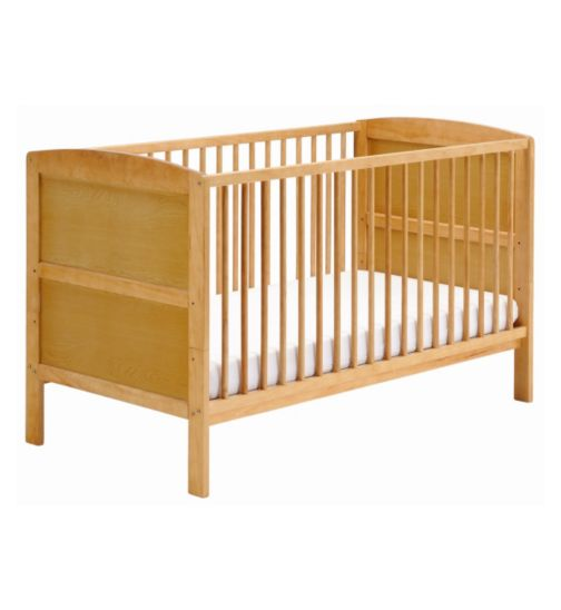 East Coast Hudson Cot bed - Antique Finish