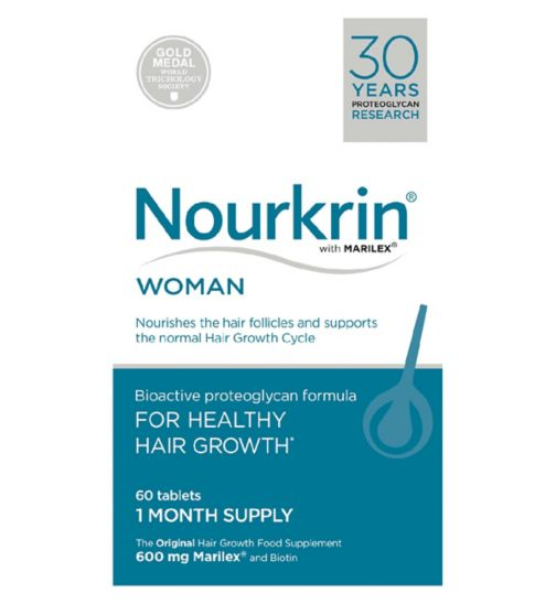 Nourkrin® WOMAN 60 Tablets (1 Month Supply)