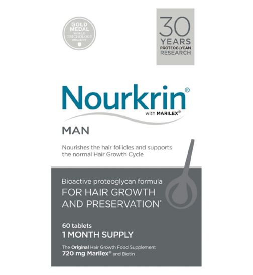 Nourkrin® MAN 60 Tablets (1 Month Supply)