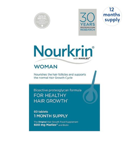 Nourkrin WOMAN 720s  (12 month supply)