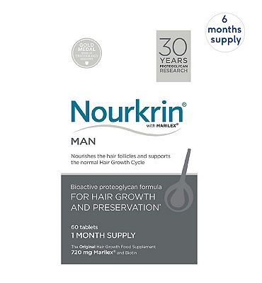 Nourkrin MAN 360 Tablets (6 Months Supply)