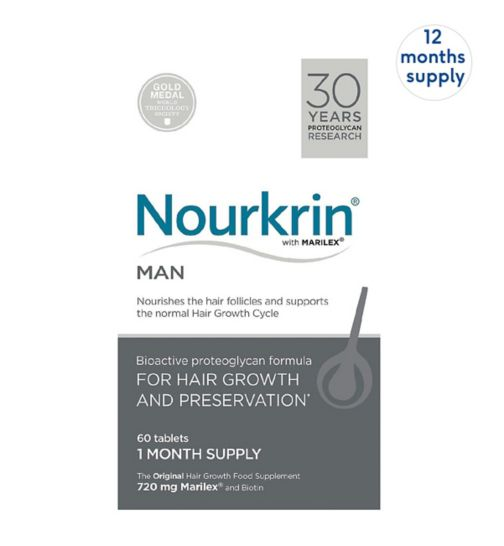 Nourkrin MAN 720 Tablets (12 Months Supply)