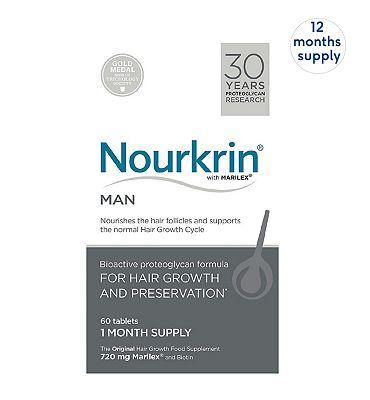 Nourkrin MAN 720 Tablets (12 Months Supply)