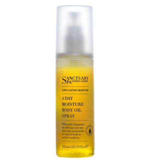 Sanctuary Long Lasting Moisture 4 Day Moisture Body Oil Spray 125ml