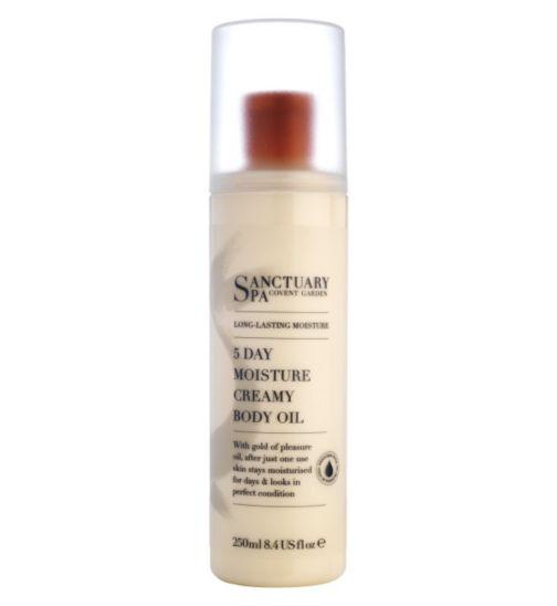 Sanctuary Long Lasting Moisture 5 Day Moisture Creamy Body Oil 250ml