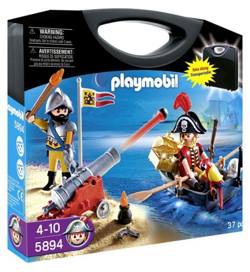 PLAYMOBIL Pirate Raft Carry Case 5655