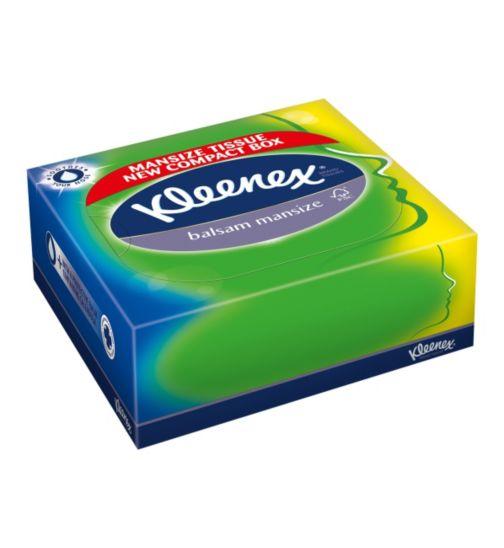 Kleenex Balsam Mansize Family Box Tissues