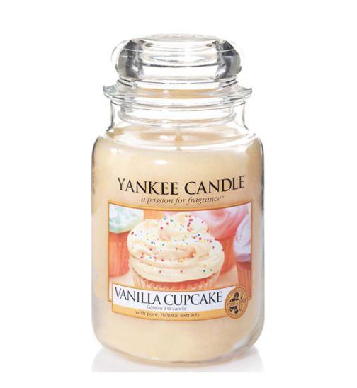 Yankee Candle Large Jar Candle - Vanilla Cupcake