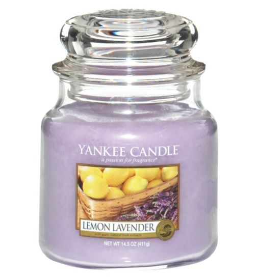 Yankee Candle Medium Jar Candle - Lemon Lavender