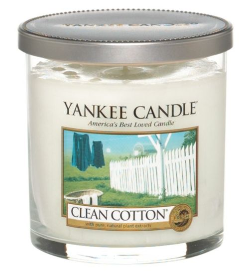 Yankee Candle Regular Tumbler Candle - Clean Cotton
