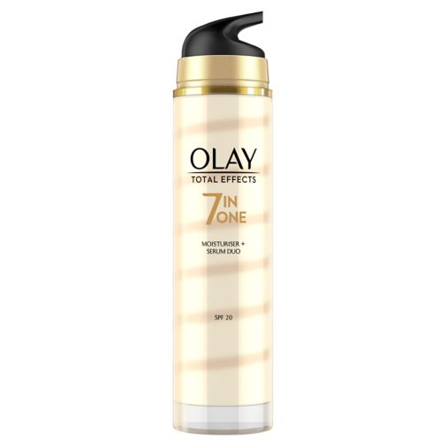Olay Total Effects 7-in-1 Anti-Ageing Moisturiser and Serum Duo 40ml