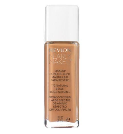Revlon Nearly Naked&#8482  Make-Up Foundation