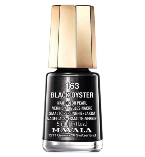 Mavala Mini Colour Nail Polish Black Oyster