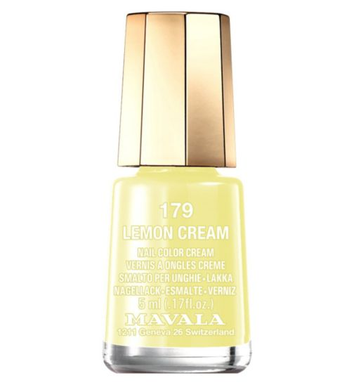 Mavala Mini Colour Nail Polish Lemon Cream 5ml
