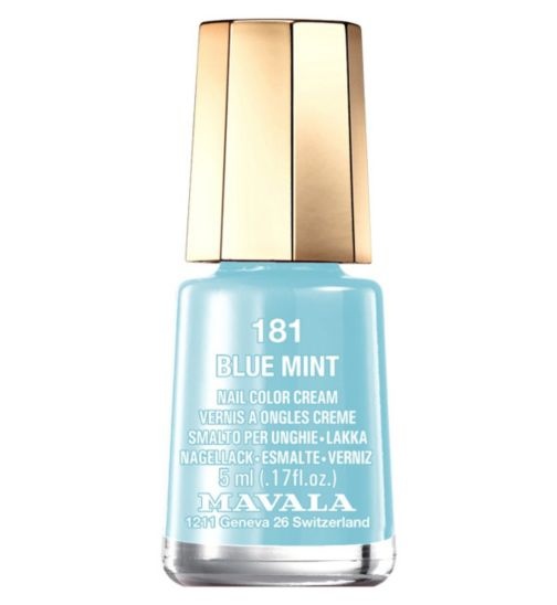 Mavala Mini Colour Nail Polish Blue Mint 5ml