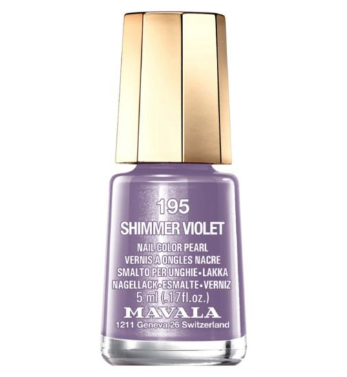 Mavala Mini Colour Nail Polish Shimmer Violet 5ml