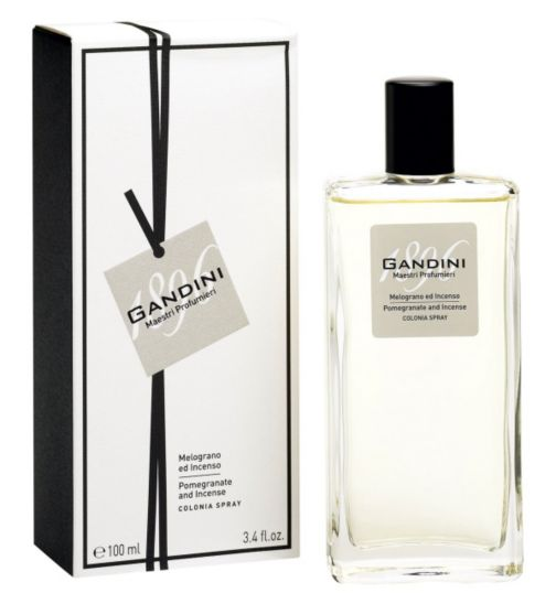 Gandini Pomegranate & Incense Eau de Cologne 100ml