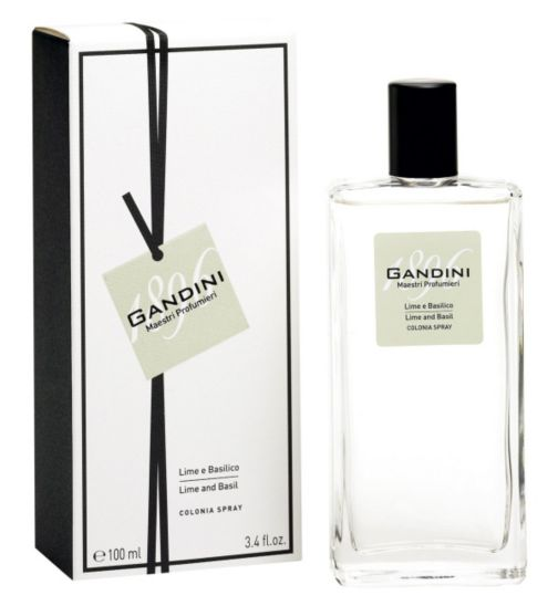 Gandini Lime and Basil Eau de Cologne 100ml