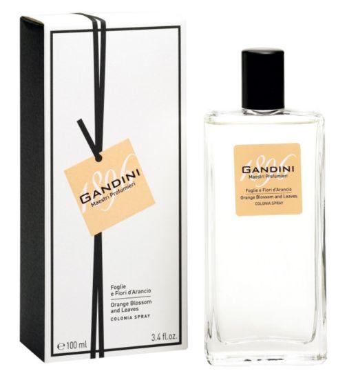 Gandini Orange Leaves & Blossom Eau de Cologne 50ml