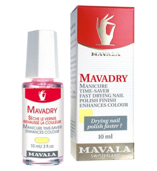 Mavala Mavadry Quick Drying Top Coat for Nail Polish 10ml