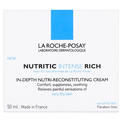 La Roche-Posay Nutritic Intense Rich Moisturising Cream for Dry/Very Dry Skin 50ml