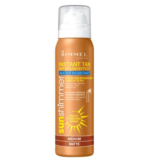 Rimmel Instant Tan Airbrush Spray Medium Matte 100ml