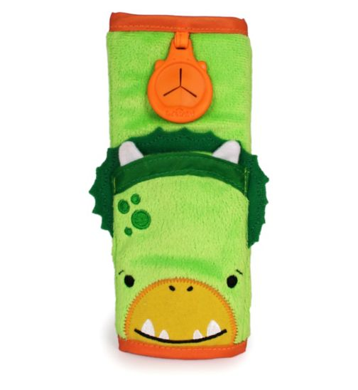 Trunki Snoozihedz Seatbelt Pad Green Dinosaur