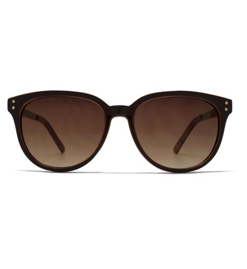 French Connection Ladies small brown sunglasses