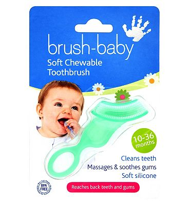 Brush Baby Soft Chewable Toothbrush