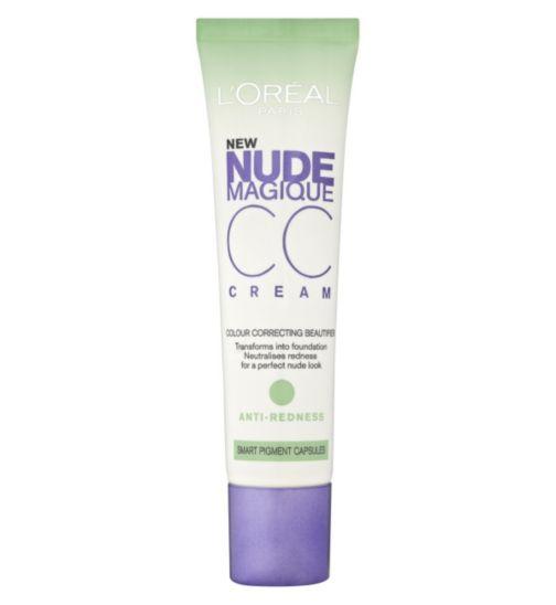 L'Oreal Paris Nude Magique CC Cream Anti- Redness