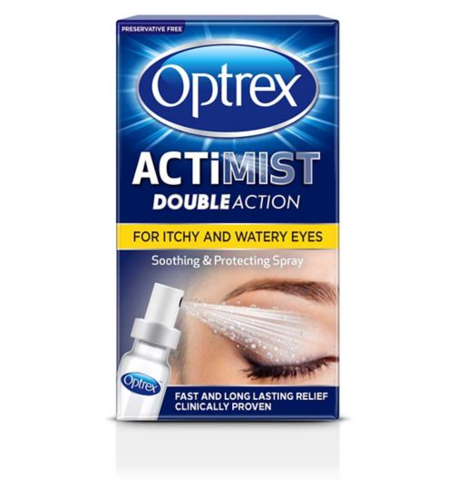 Optrex ActiMist 2in1 Eye Spray for Itchy + Watery Eyes - 10ml