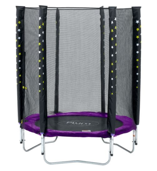 Plum® Stardust Trampoline and Enclosure