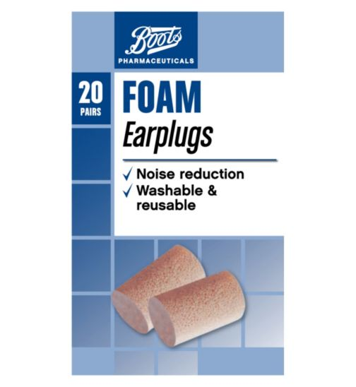 Boots Foam Ear Plugs - 20s