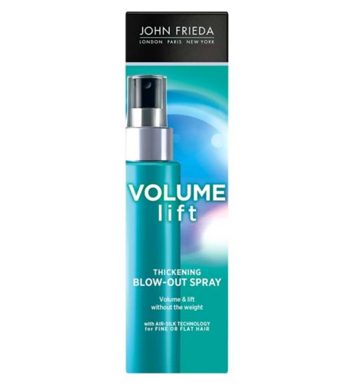 John Frieda Luxurious Volume Fine to Full Blow Out Styling Spray 100ml
