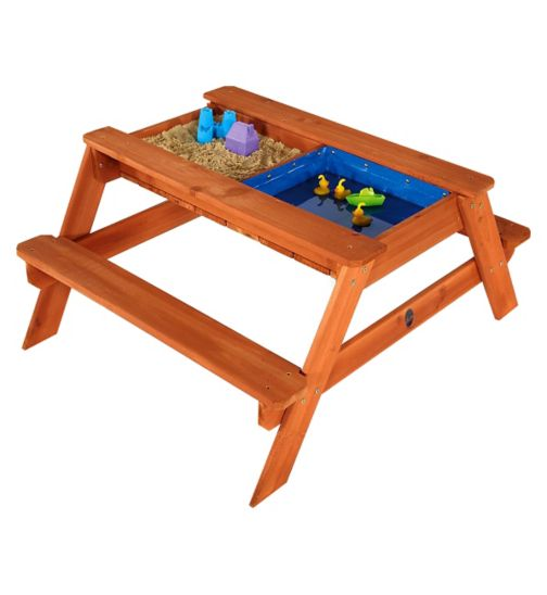 Plum® Surfside Sand & Water Wooden Picnic table