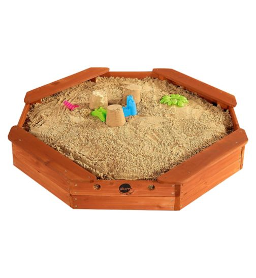 Plum Outdoor Play Treasure Beach Wooden Sand Pit